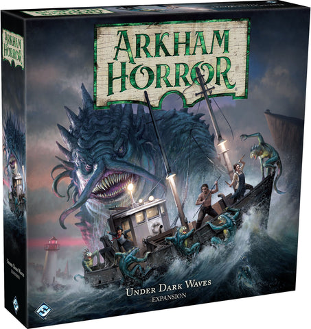 Arkham Horror: The Board Game (3rd Ed.) - Under Dark Waves