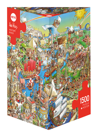 Jigsaw Puzzle: History River (1500 Pieces)