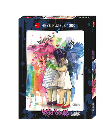 Jigsaw Puzzle: HEYE - Free Colours Imagination (1000 Pieces)