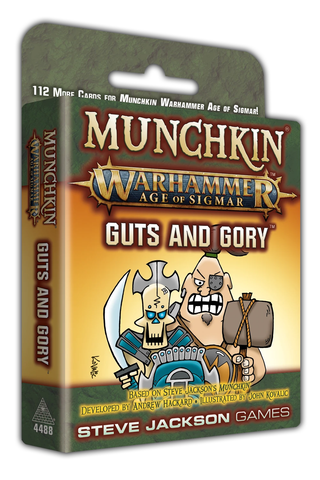 Munchkin: Warhammer Age of Sigmar - Guts and Glory