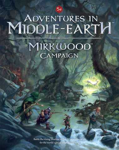 LOTR RPG: Adventures in Middle Earth - Mirkwood Campaign Guide