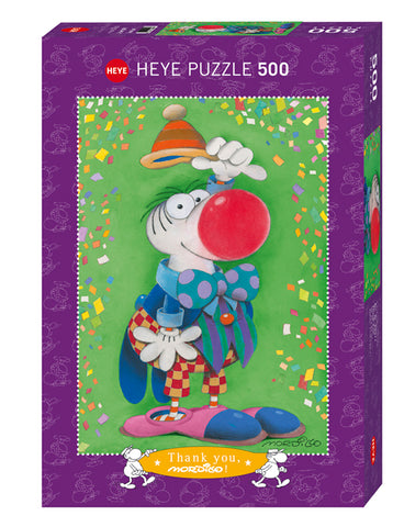 Jigsaw Puzzle: HEYE - Mordillo Thank You! (500 Pieces)