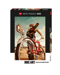 Jigsaw Puzzle: HEYE - Music Ride (1000 Pieces)
