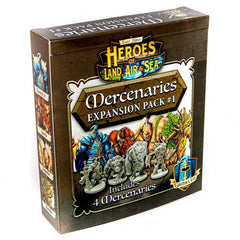 Heroes of Land, Air, and Sea - Mercenary Pack 01