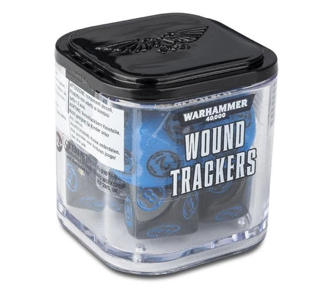 Warhammer 40K: Wound Trackers - Blue and Black