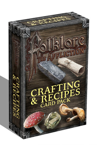 Folklore: The Affliction - Crafting & Recipes Card Pack