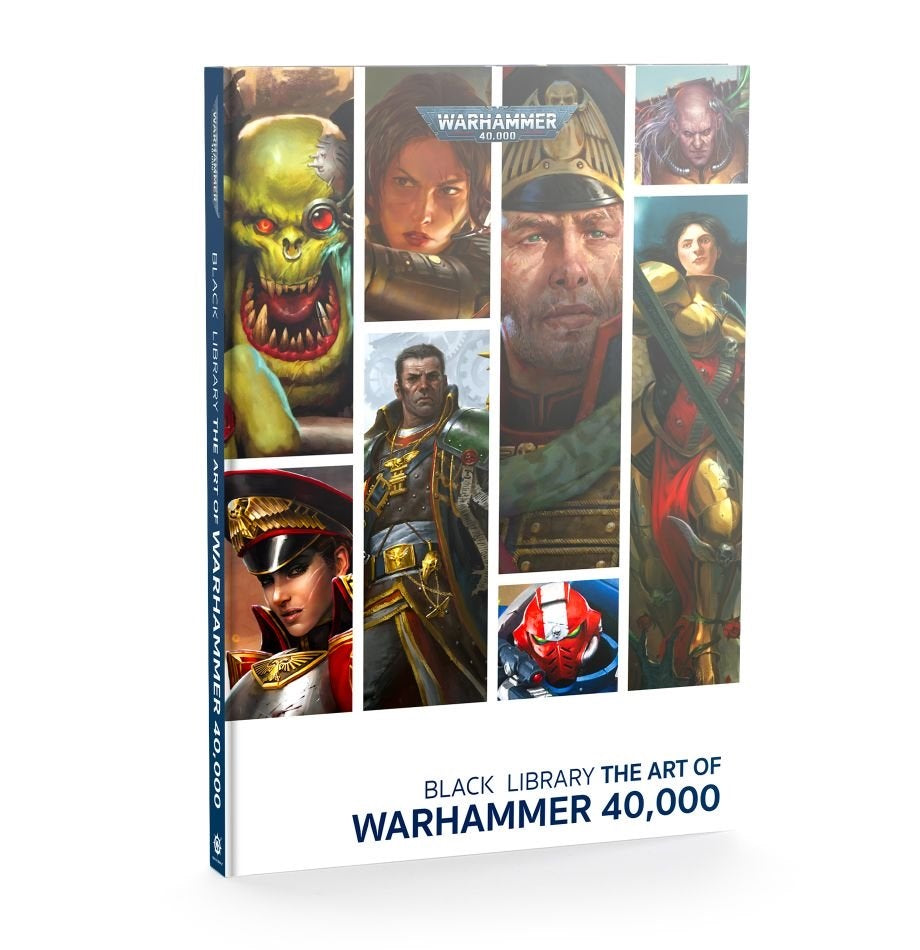 WH 40K: Black Library - The Art of Warhammer 40K