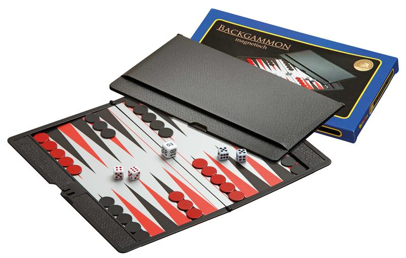Backgammon: Philos - Travel, Magnetic