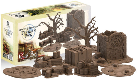 Guild Ball: Terrain Pack - Mason's & Brewer's