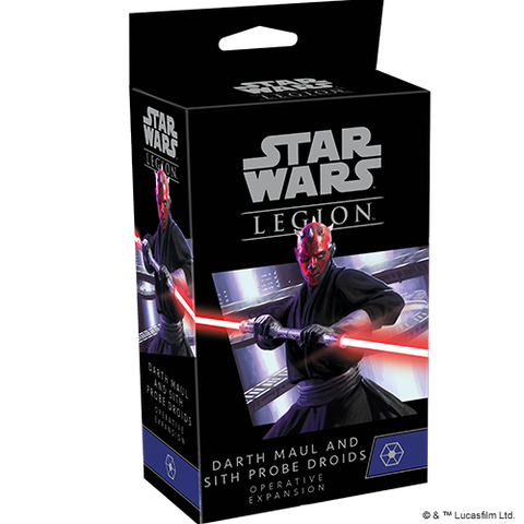 Star Wars: Legion - Darth Maul and Sith Probe Droid