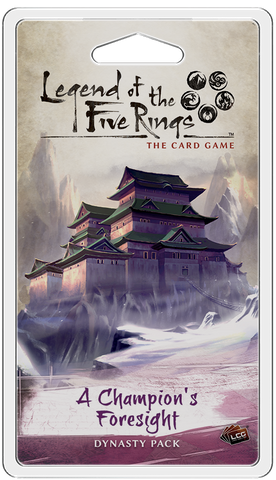 L5R LCG: Expansion 23 - A Champion's Foresight