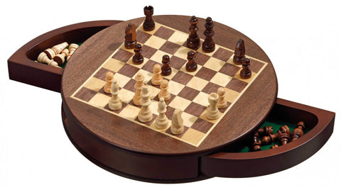 Chess: Philos - Rounded, Magnetic, 25mm