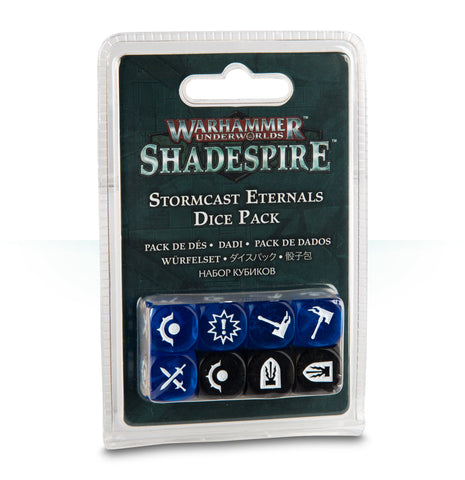 WH Underworlds: Shadespire - The Farstriders: Dice Pack (Stormcast Eternals)