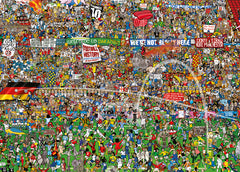 Jigsaw Puzzle: HEYE - Football History (3000 Pieces)