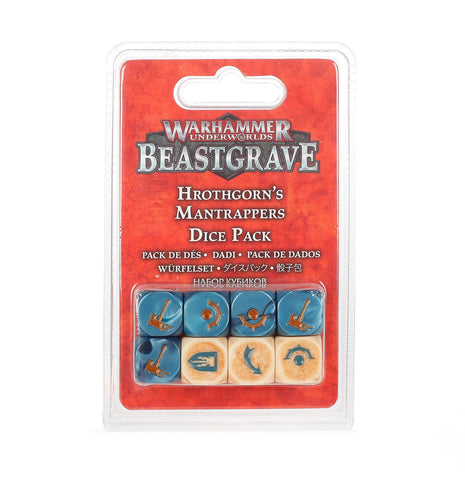 WH Underworlds: Beastgrave - Hrothgorn's Mantrappers Dice Set