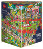 Jigsaw Puzzle: HEYE - Tanck Dog Show (1000 Pieces)