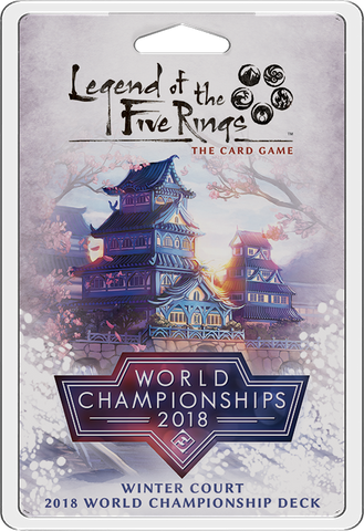 L5R LCG: 2018 World Championship - Winter Court