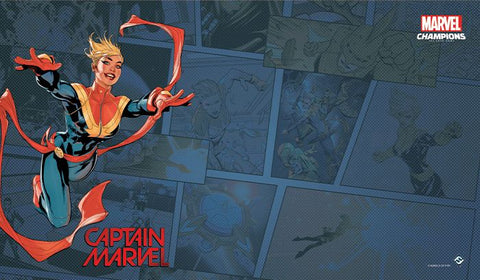 Marvel LCG - Playmat - Captain Marvel