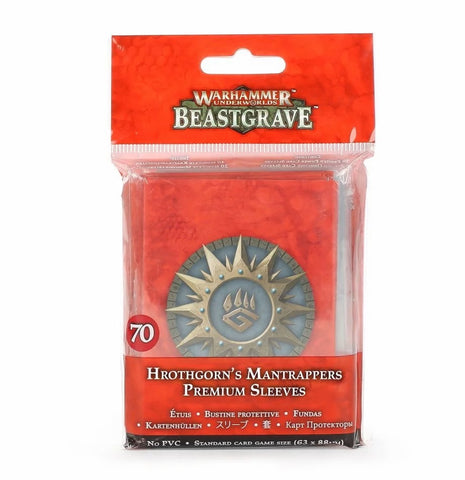WH Underworlds: Beastgrave - Hrothgorn's Mantrappers - Premium Sleeves