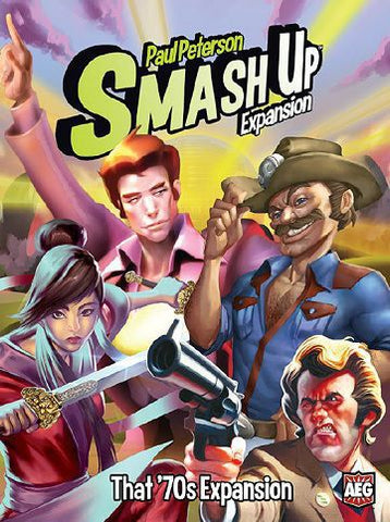 Smash Up: Exp 11 - That 70's Expansion