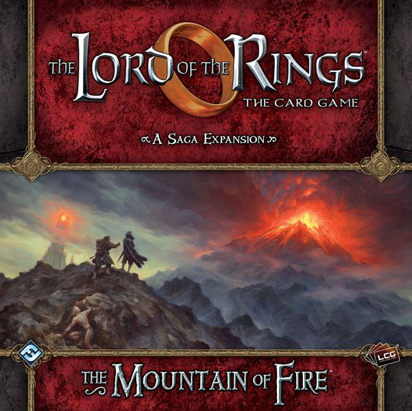 LOTR LCG: Saga Expansion 08 - The Mountain of Fire