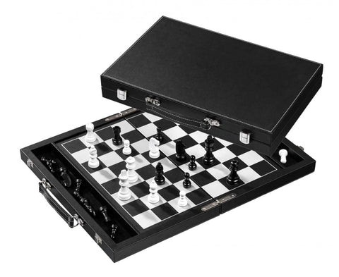 Chess Set (Leather, 38 mm)