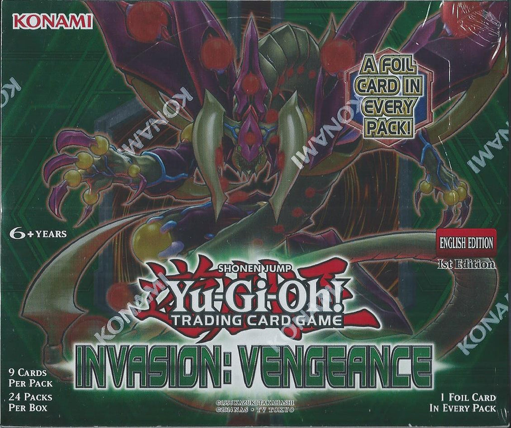 Yu-Gi-Oh! TCG: Invasion Vengeance 1st Edition Booster (24x Display)