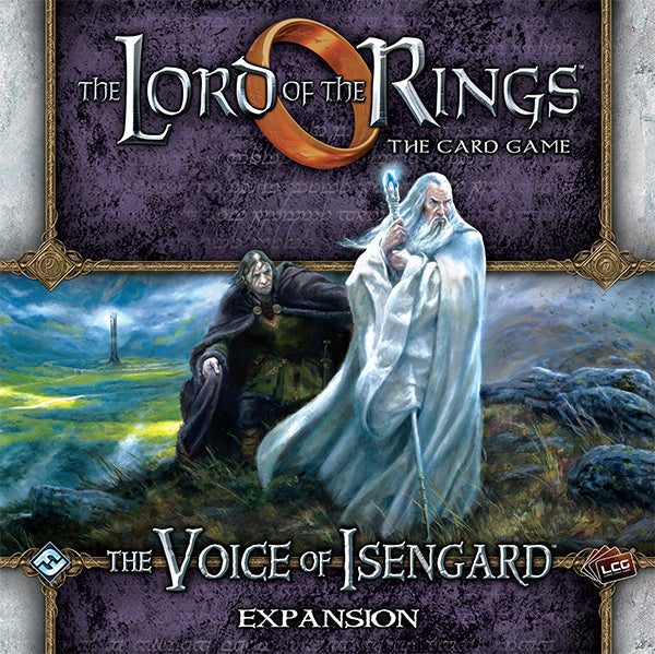 LOTR LCG: Expansion 21 - The Voice of Isengard Deluxe
