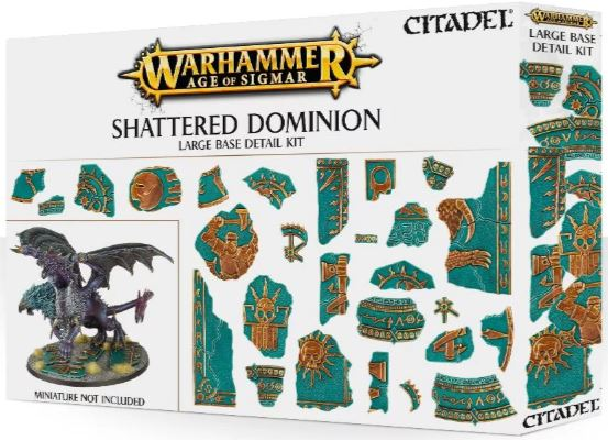 Warhammer Age of Sigmar: Shattered Dominion - Large Base Detail