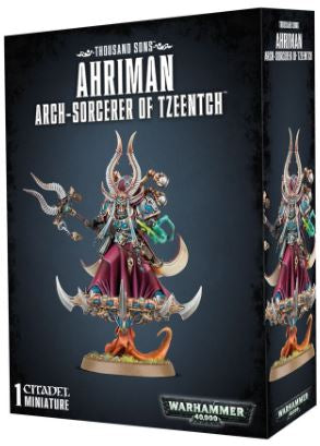 WH 40K: Thousand Sons - Ahriman Arch-Scorcerer of Tzeentch