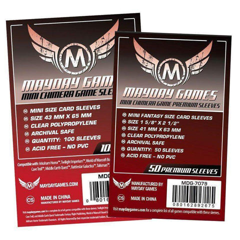 MDY Card Sleeves: USA Chimera Mini Premium (65 x 43 mm) x50