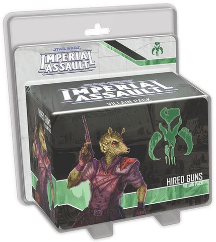 Star Wars: Imperial Assault - Hired Guns (Villain)