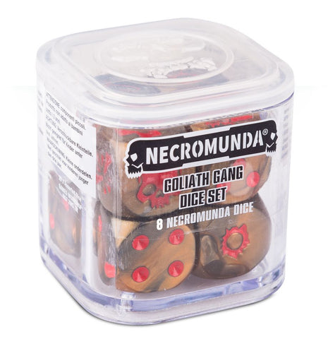 WH Necromunda - Goliath Gang Dice Set