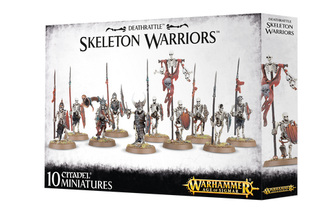 WH AoS: Deathrattle - Skeleton Warriors