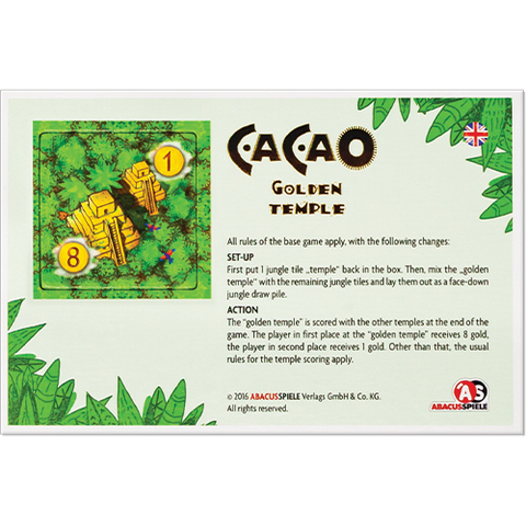 Cacao - Golden Temple