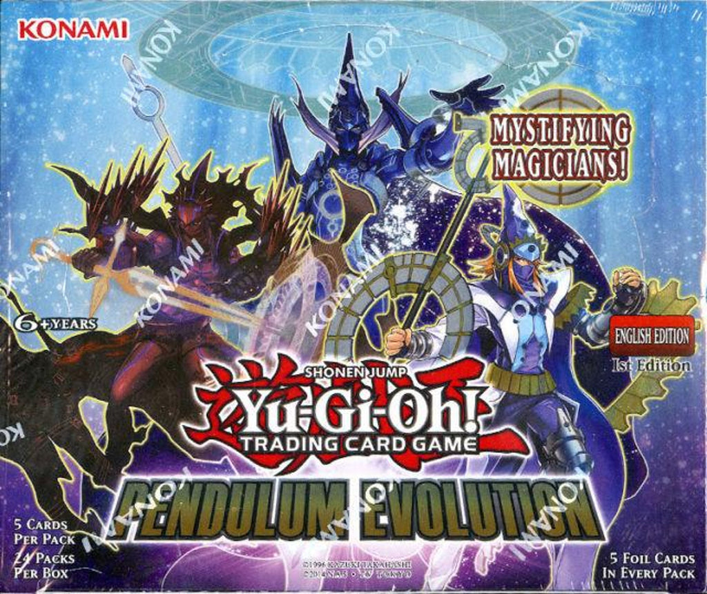 Yu-Gi-Oh! TCG: Pendulum Evolution Booster (24x Display)