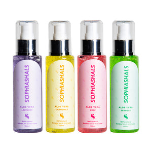 SOPHIASHALS ALOE VERA  - ( 1 SET ) (SHIPPING WITHIN MALAYSIA ONLY)