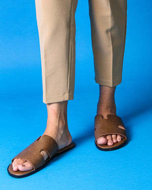 1311 Men Sandals in Taupe