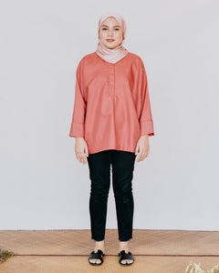 Adria Top in Salmon