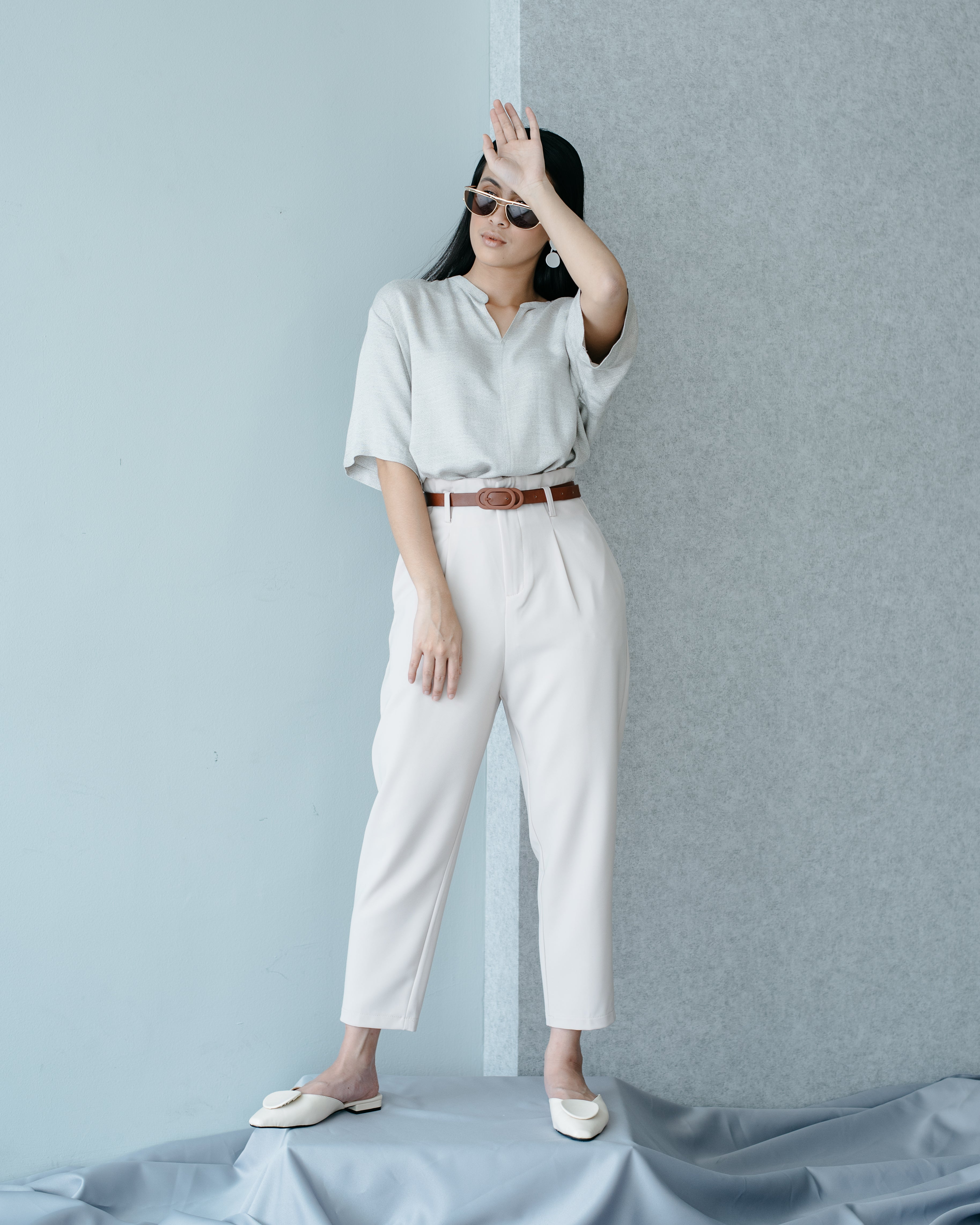 Jolene Pants in Nude