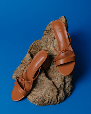 Nuri Heels in Brown