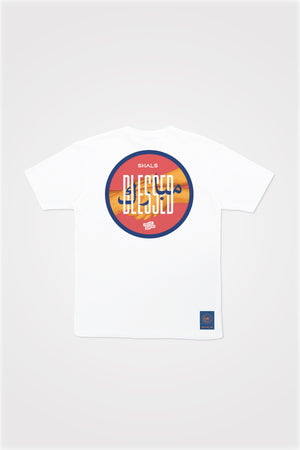 PMC x SHALS Mubarak Blessed Tee in White