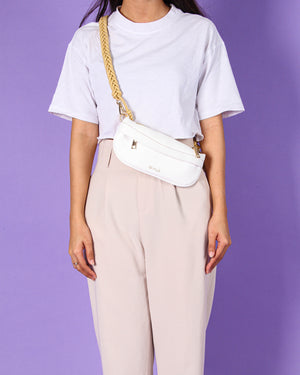 Jeanny Fanny Pack in White