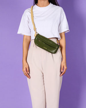 Jeanny Fanny Pack in Army Green