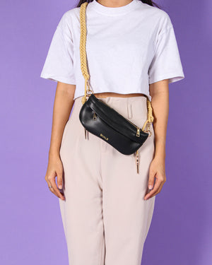 Jeanny Fanny Pack in Black