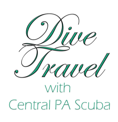 Dive Travel with Central PA Scuba