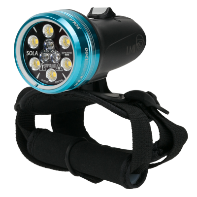 Light & Motion SOLA Dive 1200 S/F Black Authorized Dealer
