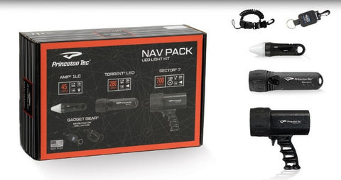 Princeton Tec NAV Pack - All the lights you need!