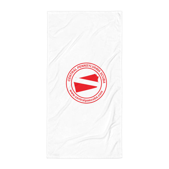 Central Pennsylvania SCUBA Beach Blanket / Towel