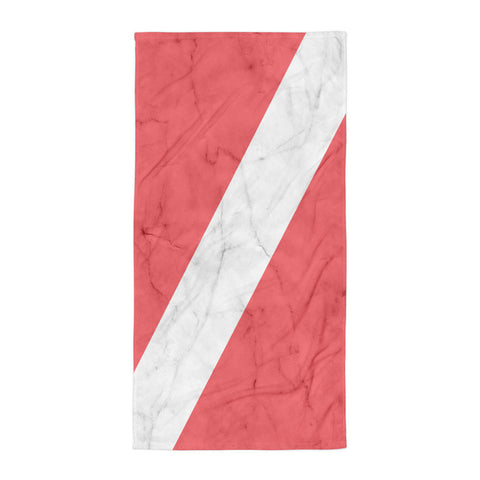 Dive Flag Beach Blanket